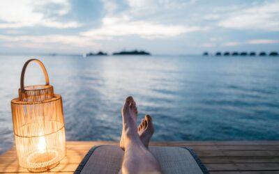 Topdrukte in de vakantie
